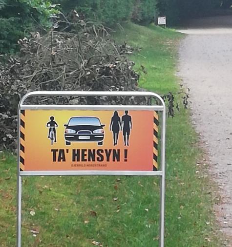 TA´ HENSYN – Nye skilte der appellerer til langsom kørsel